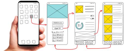 Mobile App Case Icon